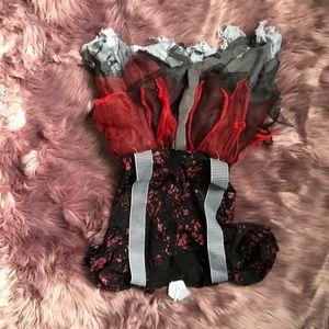 Other - Crazy clown girls Halloween dress